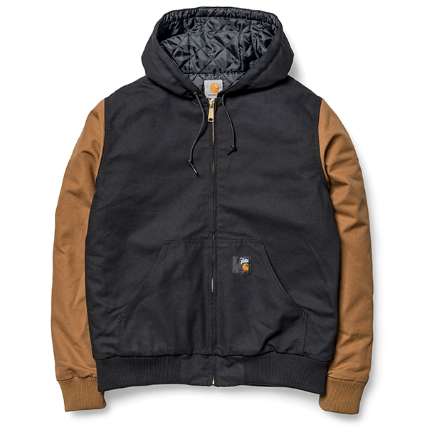 Carhartt WIP Active Jacket - Black/Hamilton Brown