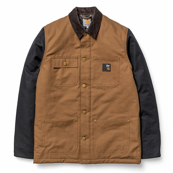 Carhartt WIP Chore Patta - Hamilton Brown/Black