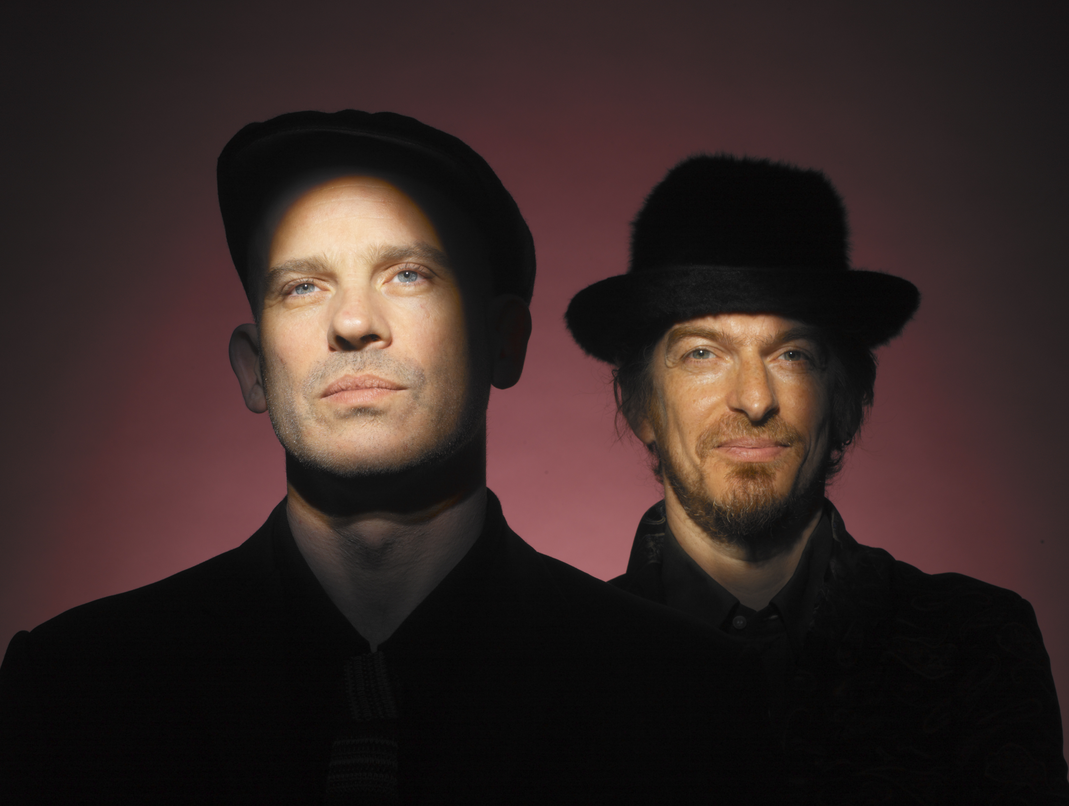 Coldcut (Jonathan More and Matt Black)