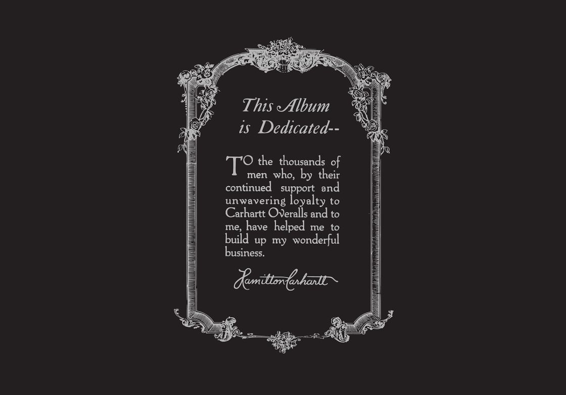Dedication by Hamilton Carhartt